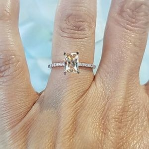 Jewelry - 14k Rose Gold Engagement Ring size 5 7
